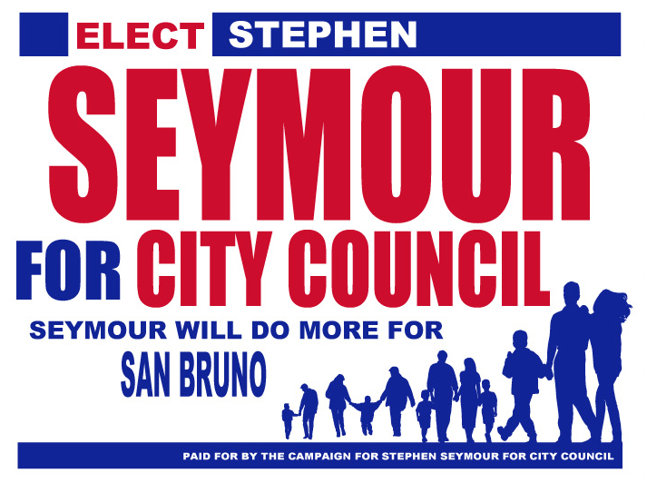 Elect Stephen Seymour for city council